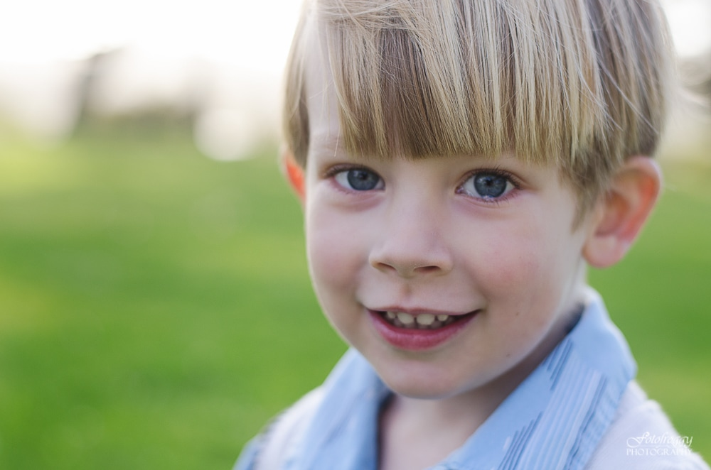 Sweet boy close up portrait - Monterey Bay Family Photographer