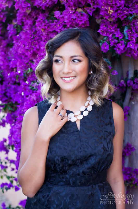 Vibrant Senior Portraits - Monterey County Photographer