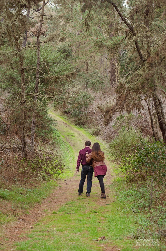 Monterey Forest Engagement Photos - www.fotofroggy.com