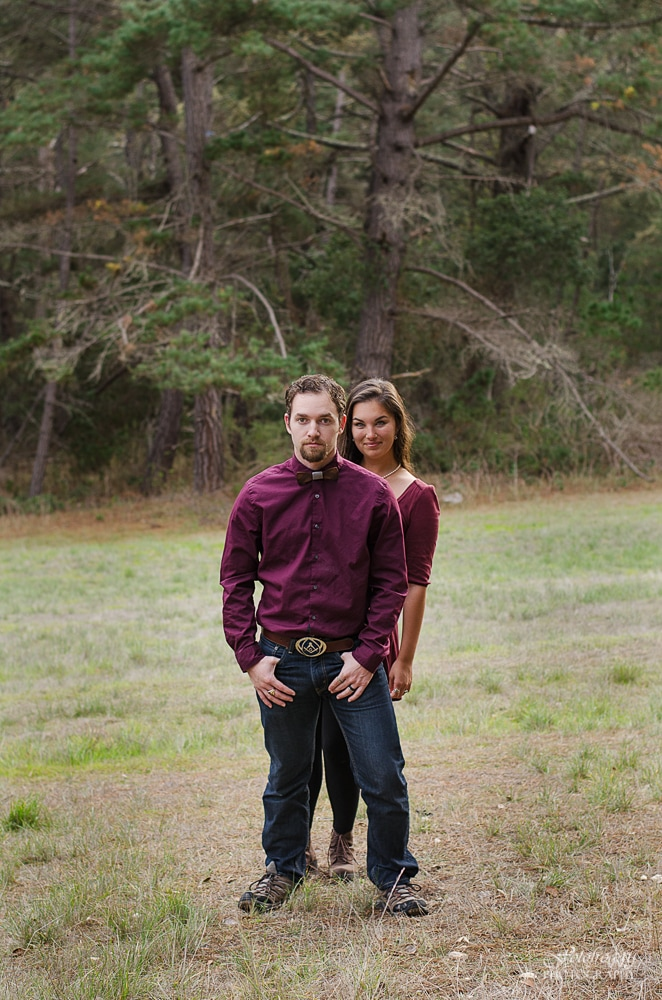 Somebody's Watchin' Me! - couples portraits in Monterey Ca