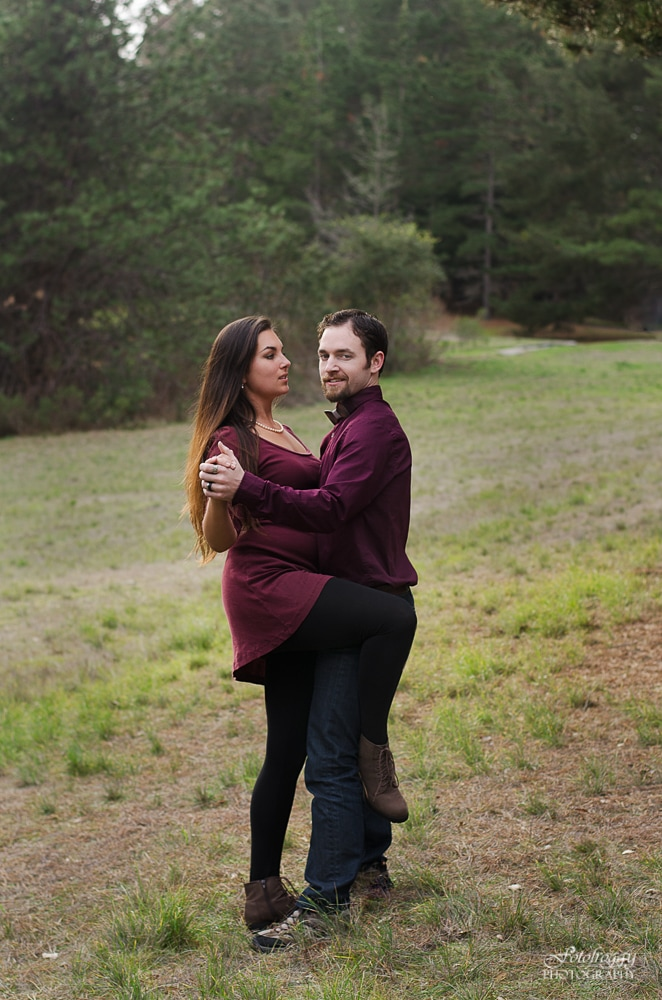 Shall we dance? Couples portraits in Monterey CA